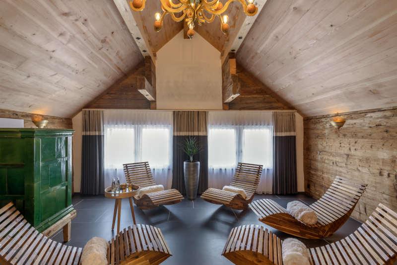 Klassik-Wellness im Appenzell - Boutique Hotel Bären Gonten - Ruheraum