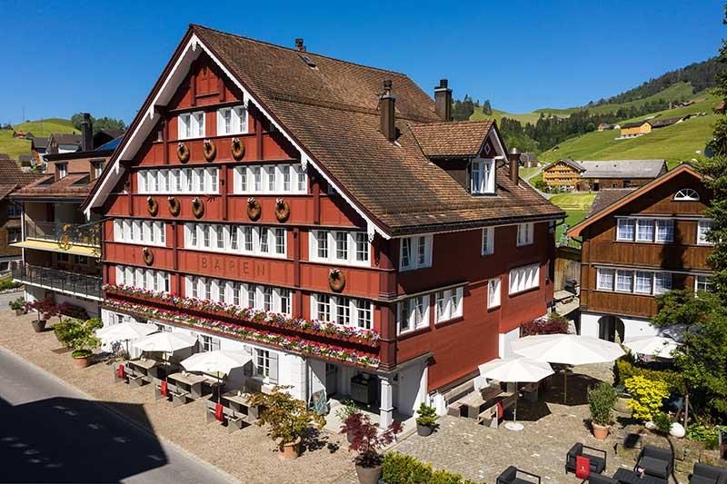 Klassik-Wellness im Appenzell - Boutique Hotel Bären Gonten