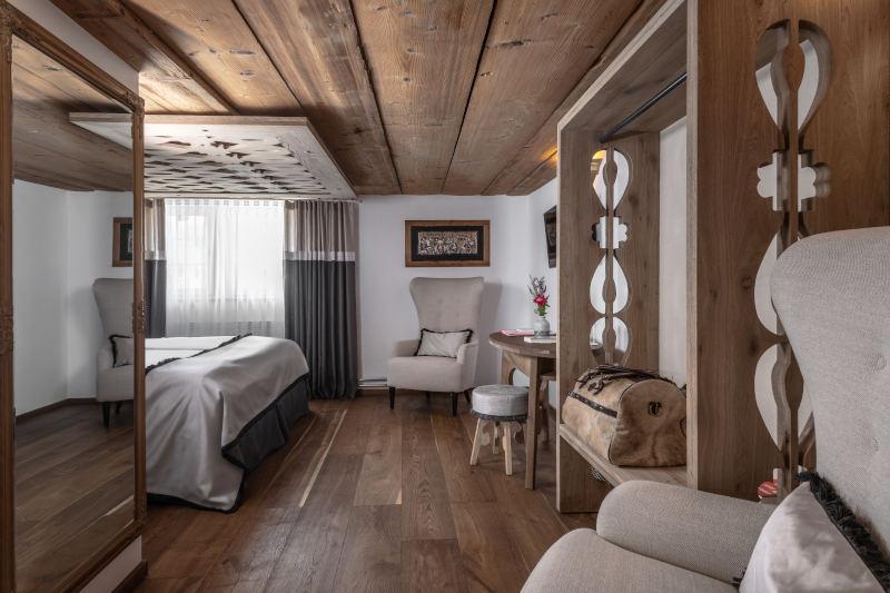 Klassik-Wellness im Appenzell - Boutique Hotel Bären Gonten - Doppelzimmer originell